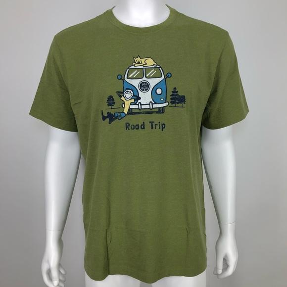 f101c2ece40 New Life Is Good Mens XXL Shirt Van Road Trip Jake